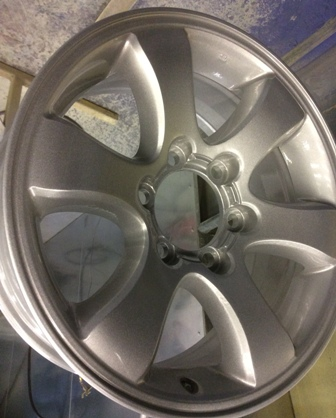 Recent Alloy Wheel Refurbishment